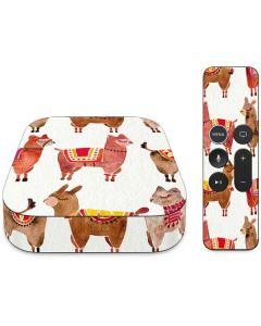 Llamas Apple TV Skin