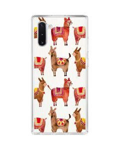 Alpacas Galaxy Note 10 Clear Case