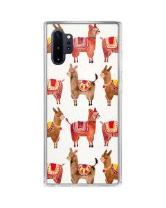Alpacas Galaxy Note 10 Plus Clear Case
