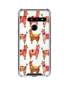 Alpacas LG G8 ThinQ Clear Case