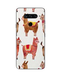 Alpacas LG V40 ThinQ Skin