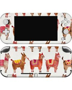 Alpacas Nintendo Switch Lite Skin
