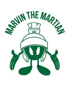 Marvin the Martian Big Head Cochlear Nucleus Freedom Kit Skin