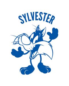Sylvester the Cat Big Head Cochlear Nucleus 5 Sound Processor Skin