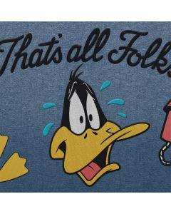 Daffy Duck Thats All Folks Apple TV Skin