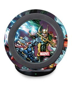 Loki Fighting Avengers Fast Charge Wireless Charging Stand Skin