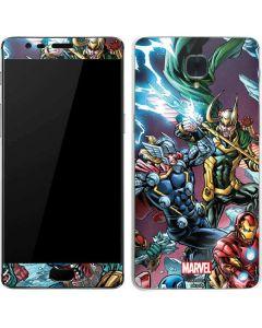 Loki Fighting Avengers OnePlus 3 Skin