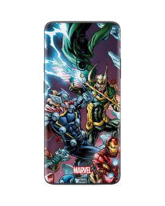 Loki Fighting Avengers OnePlus 7 Pro Skin