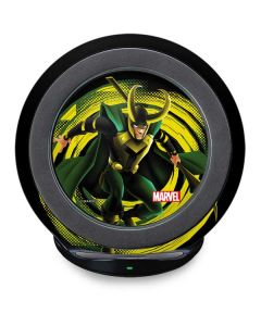 Loki Glowing Eyes Fast Charge Wireless Charging Stand Skin