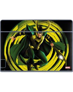 Loki Glowing Eyes Galaxy Book Keyboard Folio 12in Skin