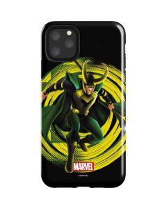 Loki Glowing Eyes iPhone 11 Pro Max Impact Case