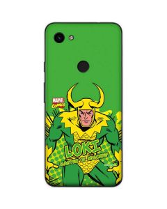 Loki Master of Mischief Google Pixel 3a Skin