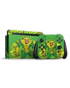 Loki Master of Mischief Nintendo Switch Bundle Skin