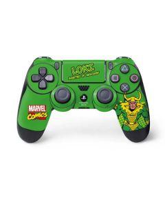 Loki Master of Mischief PS4 Controller Skin