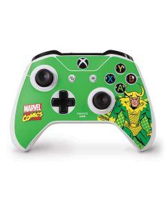 Loki Master of Mischief Xbox One S Controller Skin