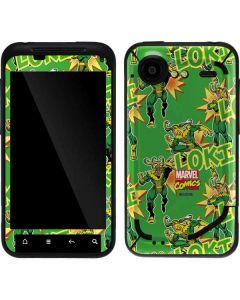 Loki Print Droid Incredible 2 Skin