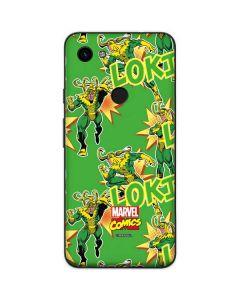 Loki Print Google Pixel 3a Skin