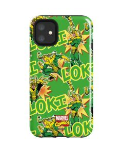 Loki Print iPhone 11 Impact Case