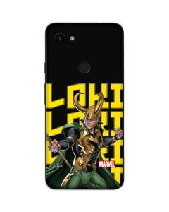 Loki Ready for Battle Google Pixel 3a Skin
