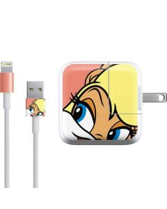 Lola Bunny Zoomed In iPad Charger (10W USB) Skin