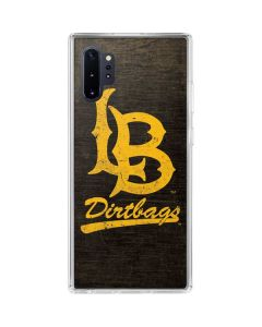 Long Beach Logo Faded Galaxy Note 10 Plus Clear Case