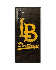Long Beach Logo Faded Galaxy Note 10 Skin