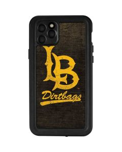 Long Beach Logo Faded iPhone 11 Pro Max Waterproof Case