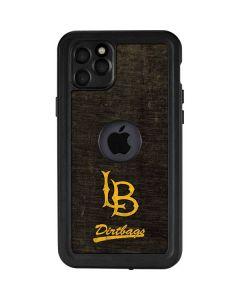 Long Beach Logo Faded iPhone 11 Pro Max Waterproof Case