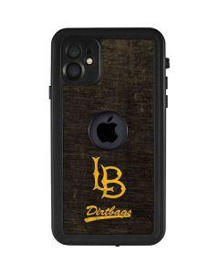 Long Beach Logo Faded iPhone 11 Waterproof Case