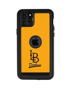 Long Beach Yellow iPhone 11 Pro Max Waterproof Case
