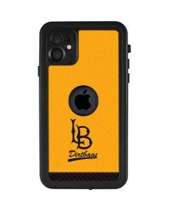Long Beach Yellow iPhone 11 Waterproof Case
