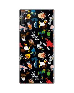 Looney Tunes Identity Pattern Galaxy Note 10 Skin