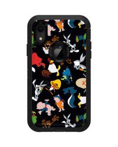 Looney Tunes Identity Pattern Otterbox Defender iPhone Skin