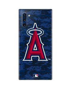 Los Angeles Angels Digi Camo Galaxy Note 10 Skin