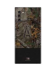 Los Angeles Angels Realtree Xtra Camo Galaxy Note 10 Skin