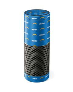 Los Angeles Chargers Blitz Series Amazon Echo Skin