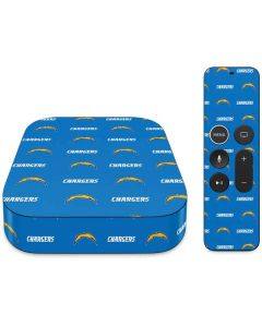 Los Angeles Chargers Blitz Series Apple TV Skin