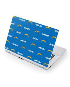 Los Angeles Chargers Blitz Series Acer Chromebook Skin