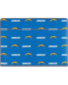 Los Angeles Chargers Blitz Series Galaxy Book Keyboard Folio 12in Skin