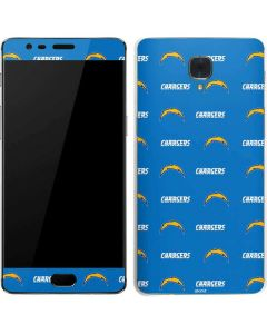 Los Angeles Chargers Blitz Series OnePlus 3 Skin
