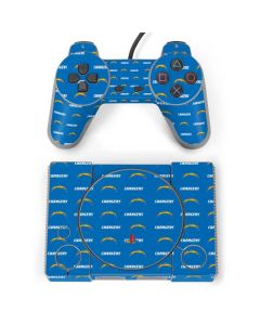 Los Angeles Chargers Blitz Series PlayStation Classic Bundle Skin