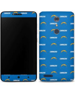 Los Angeles Chargers Blitz Series ZTE ZMAX Pro Skin