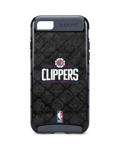 Los Angeles Clippers Black Rust iPhone 8 Cargo Case