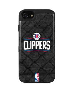 Los Angeles Clippers Black Rust iPhone SE Wallet Case
