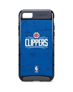 Los Angeles Clippers Distressed Blue iPhone 8 Cargo Case