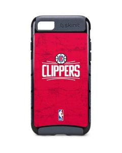 Los Angeles Clippers Distressed Red iPhone 8 Cargo Case
