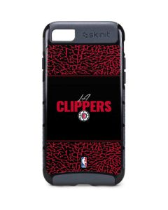 Los Angeles Clippers Elephant Print iPhone 8 Cargo Case