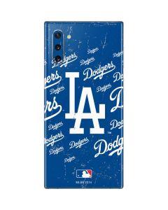 Los Angeles Dodgers - Cap Logo Blast Galaxy Note 10 Skin