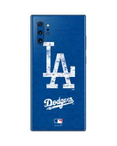 Los Angeles Dodgers - Solid Distressed Galaxy Note 10 Plus Skin