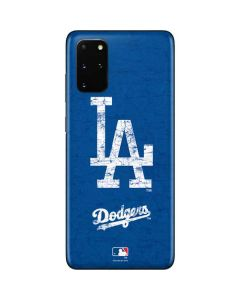 Los Angeles Dodgers - Solid Distressed Galaxy S20 Plus Skin